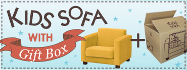 KIDS SOFA with ギフトボックス